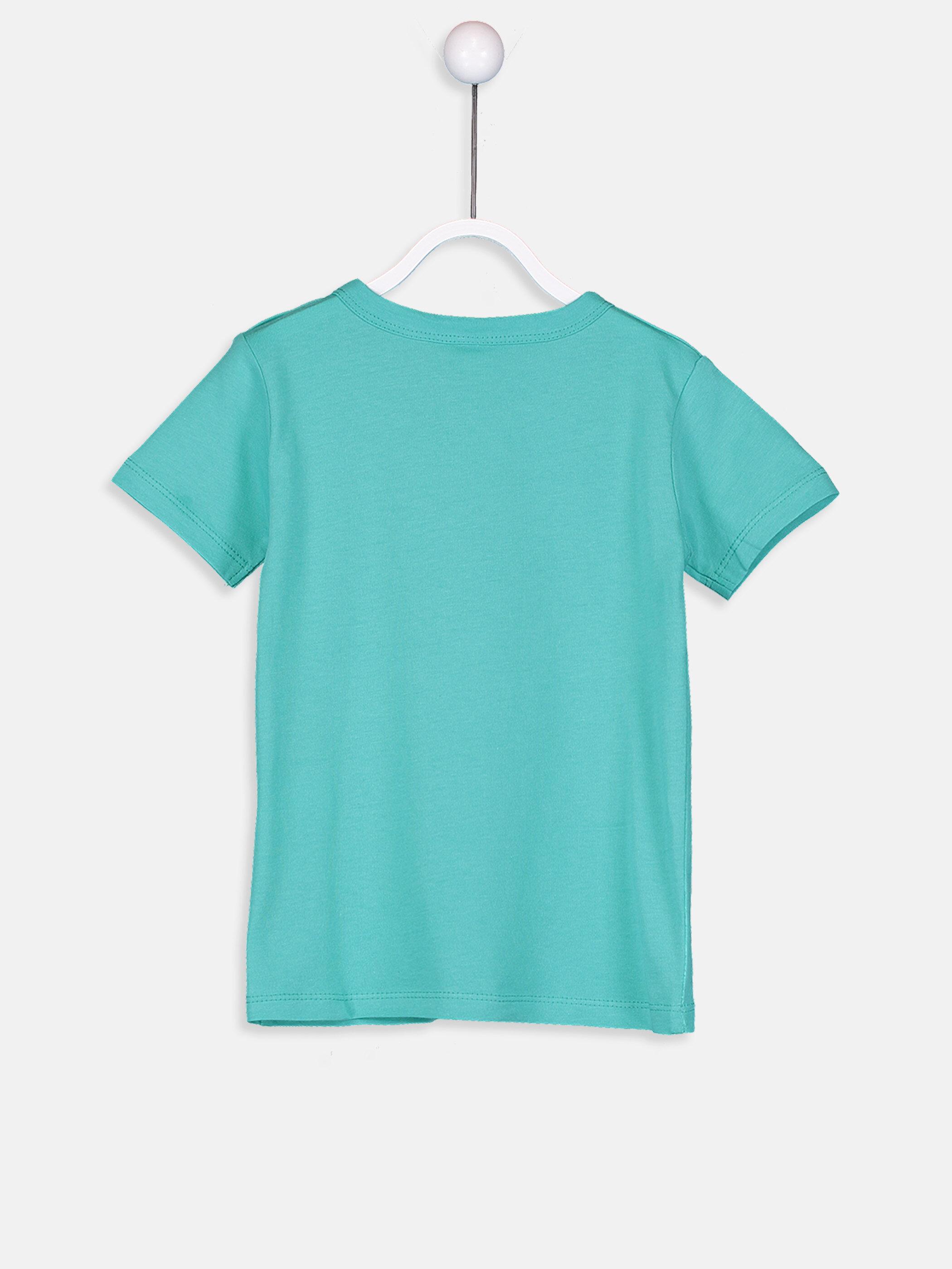 Erkek Bebek Pamuklu Baskılı Tişört -9S2694Z1-MTE