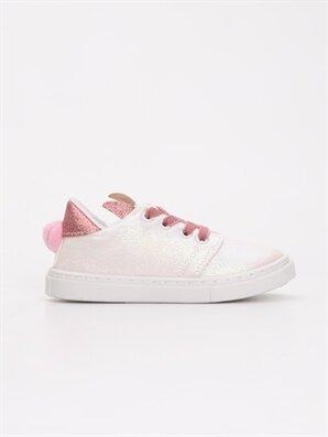 Kız Bebek Bağcıklı Sneaker Spor Ayakkabı - LC WAIKIKI