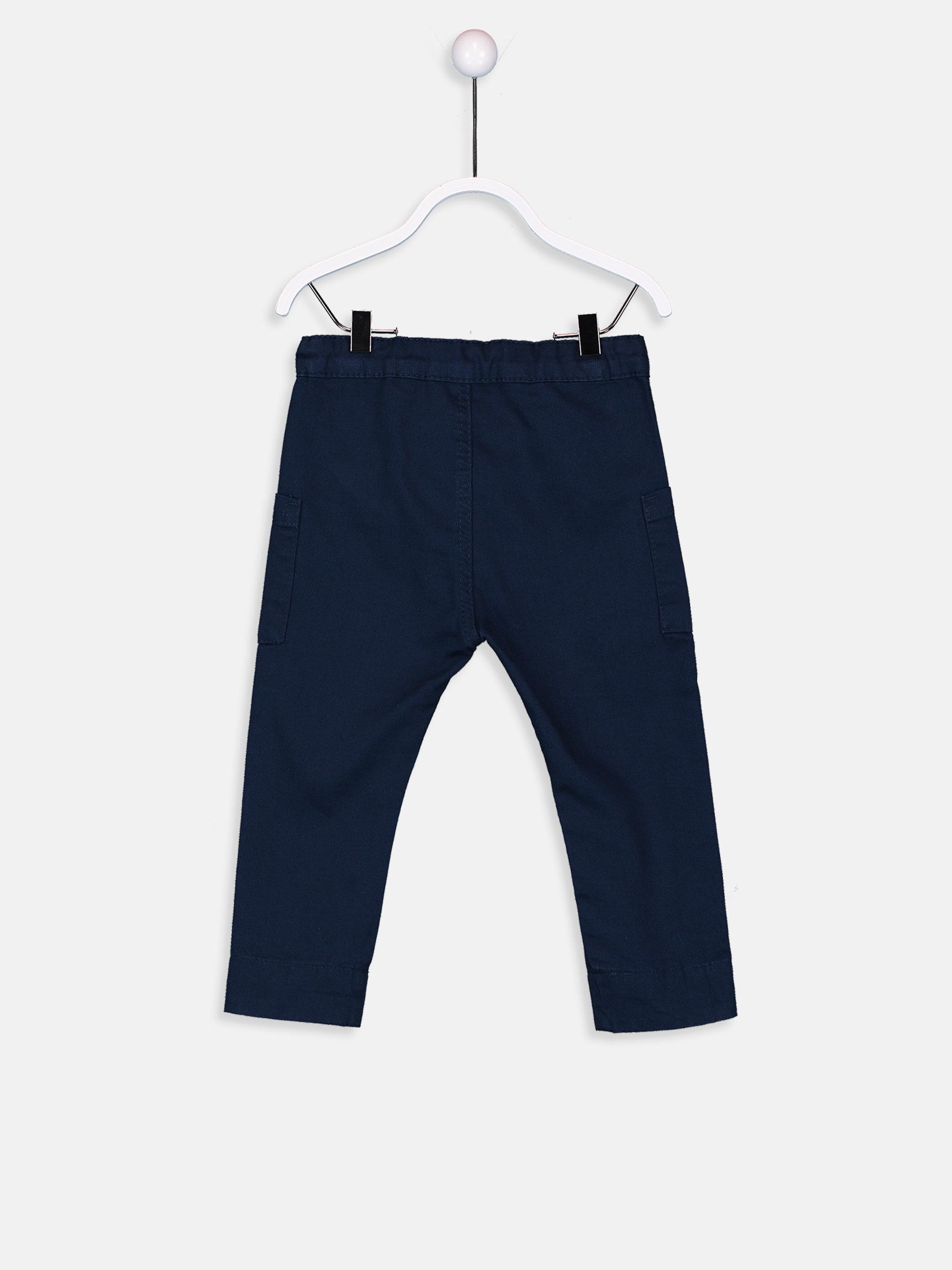Erkek Bebek Gabardin Harem Pantolon -9S3525Z1-CS0