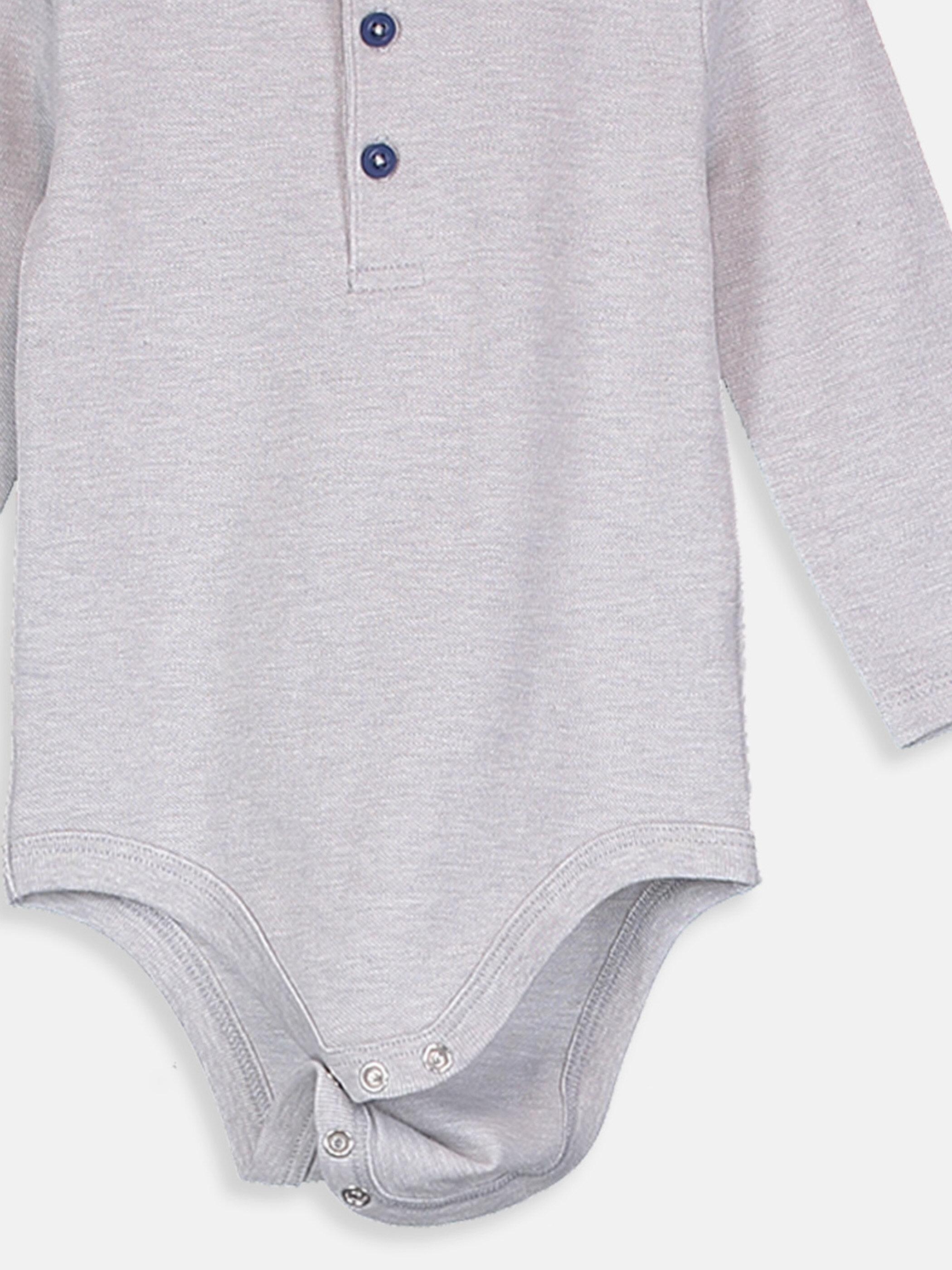 Erkek Bebek Pamuklu Çıtçıtlı Body -9S3924Z1-CT3