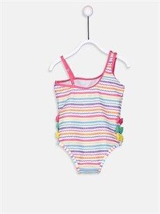 Kız Bebek Kız Bebek Aplikeli Mayo