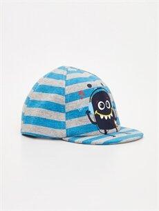 Lacivert Erkek Bebek Pamuklu Şapka 9S6384Z1 LC Waikiki