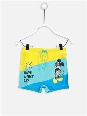 Erkek Bebek Mickey Mouse Baskılı Mayo - LC WAIKIKI