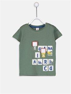 LC Waikiki Yeşil Erkek Bebek Pamuklu Tişört Ve Şort