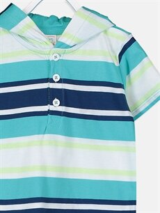 Erkek Bebek Erkek Bebek Kapüşonlu Tişört