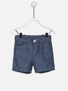 Erkek Bebek Baskılı Tişört ve Bermuda Şort