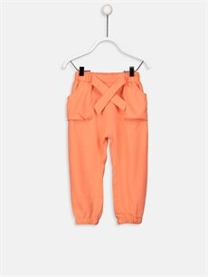 Mercan Kız Bebek Gabardin Harem Pantolon 9S8119Z1 LC Waikiki