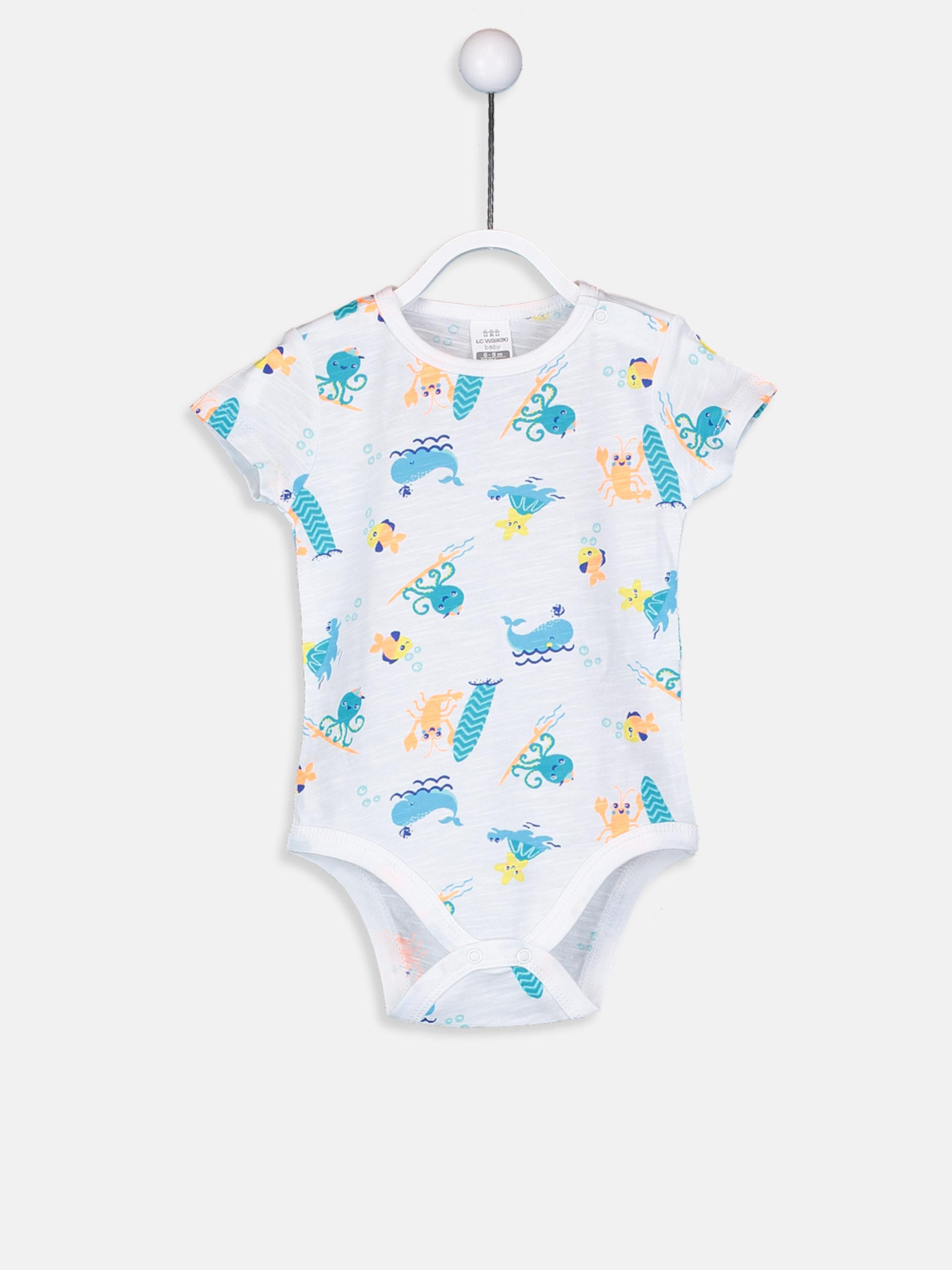 Erkek Bebek Çıtçıtlı Body 2'li -9S9939Z1-PC0