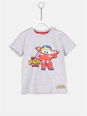 Erkek Bebek Harika Kanatlar Desenli Tişört - LC WAIKIKI