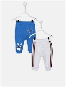Mavi Erkek Bebek Pantolon 2'li 9SG431Z1 LC Waikiki