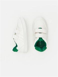 Diğer malzeme (poliüretan) Tekstil malzemeleri  Erkek Bebek Cırt Cırtlı Ayakkabı