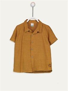Kahverengi Erkek Bebek Gömlek 9SH850Z1 LC Waikiki