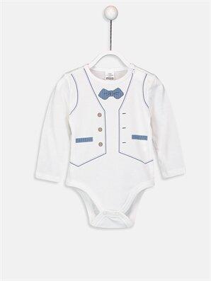 Erkek Bebek Çıtçıtlı Body  - LC WAIKIKI