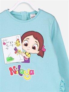 Kız Bebek Kız Bebek Niloya Desenli Sweatshirt