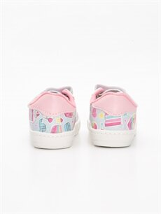 Kız Bebek Cırt Cırtlı Sneaker Ayakkabı