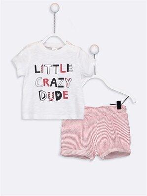 Kız Bebek Tişört ve Şort Takım - LC WAIKIKI