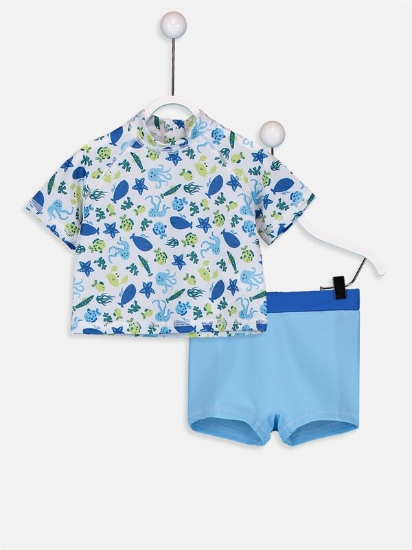 Erkek Bebek Yüzme Takım - LC WAIKIKI