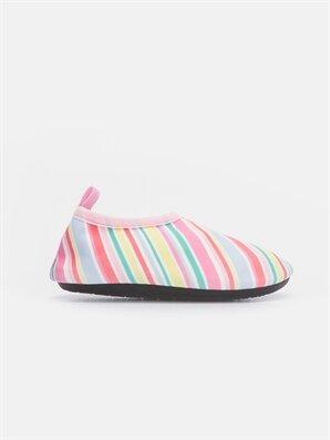 Kız Bebek Rengarenk Şeritli Ayakkabı - LC WAIKIKI