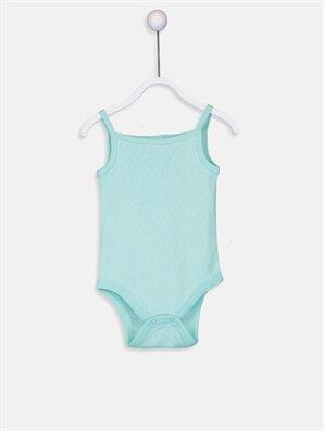 Kız Bebek Pamuklu Çıtçıtlı Body - LC WAIKIKI