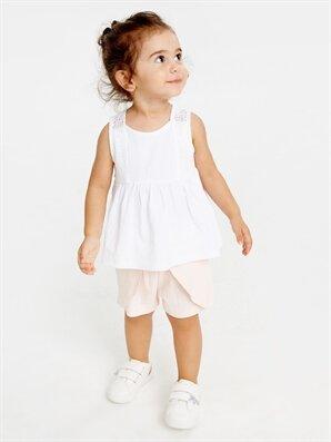 Kız Bebek Pamuklu Atlet - LC WAIKIKI