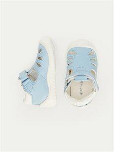Diğer malzeme (poliüretan) Diğer malzeme (poliüretan)  Erkek Bebek İlk Adım Cırt Cırtlı Ayakkabı