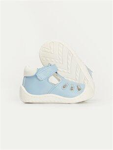 Erkek Bebek Erkek Bebek İlk Adım Cırt Cırtlı Ayakkabı