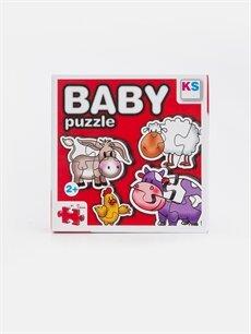 Beyaz Kız Bebek Puzzle Oyuncak            9SB028Z1 LC Waikiki