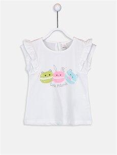 Kız Bebek Kız Bebek Desenli Tişört Ve Tayt 2'li