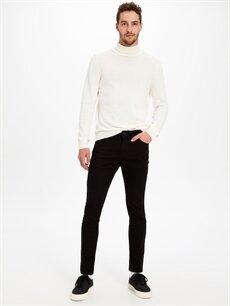 Siyah 770 Super Skinny Fit Jean Pantolon 9W0190Z8 LC Waikiki