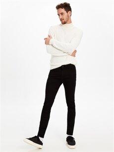 %98 Pamuk %2 Elastan Normal Bel Extra Dar Jean 770 Super Skinny Fit Jean Pantolon