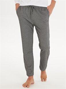 %50 Pamuk %50 Polyester Standart Pijamalar Standart Kalıp Pijama Alt