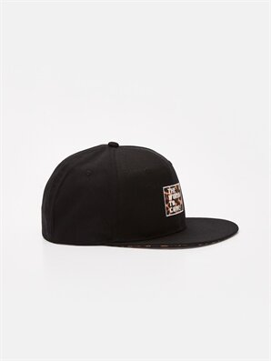 Leopar Baskılı Pamuklu Hip hop Şapka - LC WAIKIKI