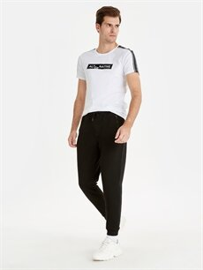 Siyah Slim Fit Jogger Pantolon 9W3536Z8 LC Waikiki