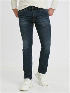 %68 Pamuk %31 Polyester %1 Elastan Normal Jean 779 Regular Fit Jean Pantolon