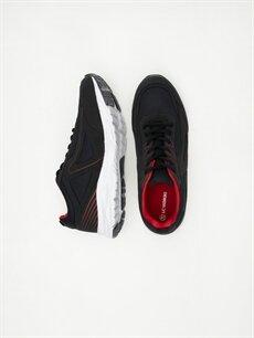 %0 Diğer malzeme (polyester) %0 Tekstil malzemeleri(%50 pamuk,  %50 polyester)  Erkek Aktif Spor Ayakkabı