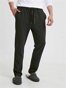 %50 Pamuk %49 Polyester %1 Elastan Standart Pijamalar Standart Kalıp Pijama Alt