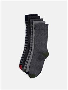 Çok Renkli Soket Çorap 5'li 9W6820Z8 LC Waikiki