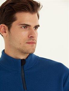 %100 Polyester Aktif Spor Polar Sweatshirt