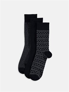 Çok Renkli Soket Çorap 3'lü 9W7272Z8 LC Waikiki