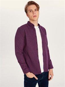 Erkek Regular Fit Uzun Kollu Gömlek