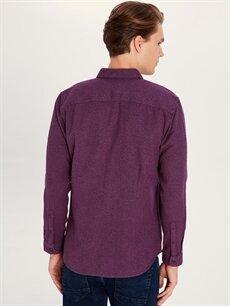 %100 Pamuk Regular Fit Uzun Kollu Gömlek
