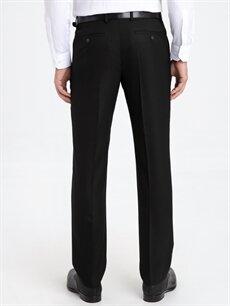 Erkek Regular Fit Armürlü Takım Elbise Pantolonu