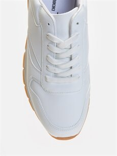 LC Waikiki Beyaz Erkek Bağcıklı Günlük Ayakkabı