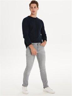Gri 750 Slim Fit Jean Pantolon 9WN759Z8 LC Waikiki