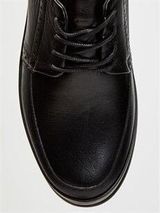LC Waikiki Siyah Erkek Klasik Konfor Hakiki Deri Ayakkabı