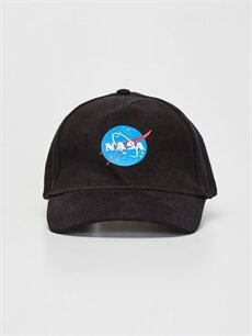 %100 Pamuk  Nasa Logo Şapka