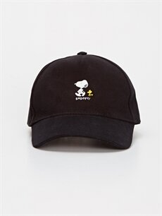 %100 Pamuk  Snoopy Baskılı Şapka