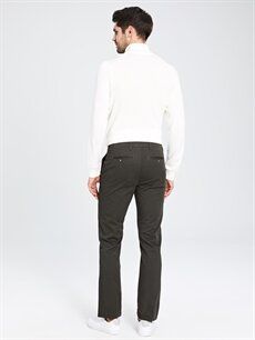 Erkek Normal Kalıp Chino Pantolon