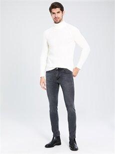 %98 Pamuk %2 Elastan Normal Bel Dar Jean 760 Skinny Fit Jean Pantolon