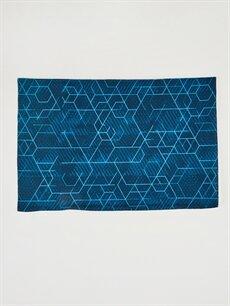 %96 Polyester %4 Elastan  Fosforlu Triko Boyunluk